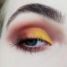 Żółte cut crease
