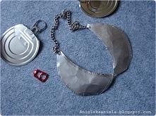 metalowy naszyjnik bebe