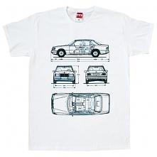 koszulka MERCEDES W124 E KL...