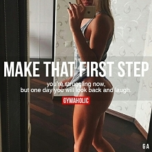 It's always that first step