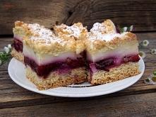 Kruche ciasto, śliwki, budyń... prosto, domowo, bez udziwnień