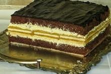 Ciasto: czekolada-jabłko-wa...