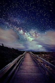 gwieździste niebo