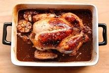 Kurczak pieczony ze śliwkami