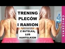 Domowy Trening PLECÓW I RAMION | Ćwiczenia na Piękne Plecy i Ramiona dla Kobiet