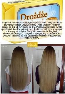 Pij drożdże dla włosów