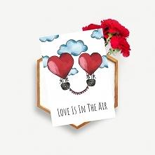 "Kartka na ślub ""Love i..."