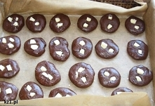 Mocno czekoladowe ciasteczk...