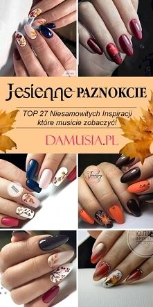 Manicure z Motywem Jesieni ...