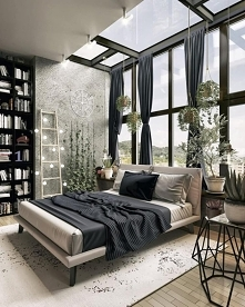 Black&White bedroom