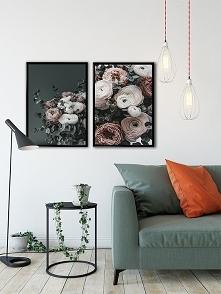 Dwa plakaty -  Kwiaty