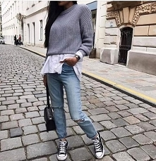 Stylówka ze sweterkiem