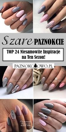 Szare Paznokcie na Jesień –...