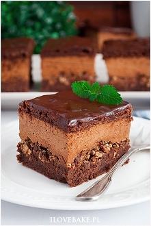 Ciasto z musem czekoladowym...