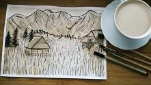 Malowane kawą... zapach kaw...