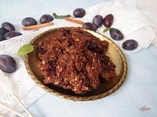 czekoladowe ciastka ze śliw...