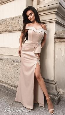 Jasna sukienka na studniówk...