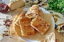 Chleb pita z kolendrą i serem na patelni  Świeża kolendra 1 pęczek Pita cienk...
