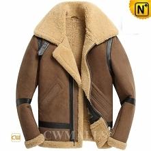 Kansas City Custom Men Sheepskin Flight Jacket CW818500 | CWMALLS.COM