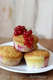 muffinki porzeczkowo – koko...