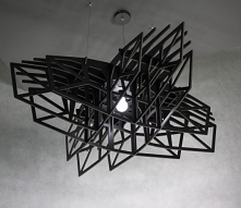 Lampa CZARNA GWIAZDA - 120c...