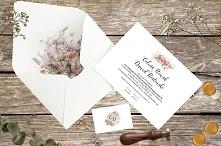 Eleganckie zaproszenia ślub...