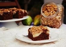 Ciasto czekoladowe z gruszk...