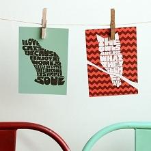Pocztówki typograficzne - z...