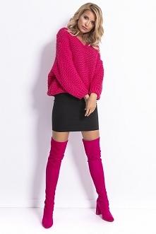 Krótki sweter F774