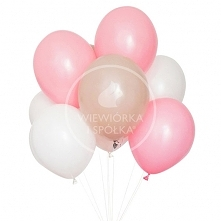 Balony Zestaw Baby Pink