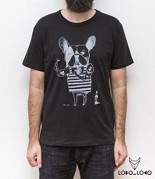 Koszulka z Buldogiem Francu...