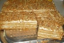Ciasto marlenka -pyszne i rozpływające się w ustach :-)