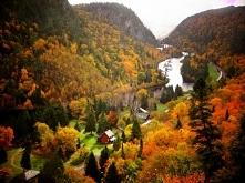 Złota jesień w Kanadzie