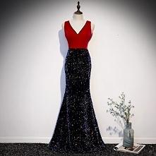 Uroczy Czerwone Sukienki Wi...