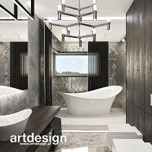 Piękna, nowoczesna łazienka...