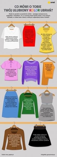 Sprawdź, co mówi kolor ubra...