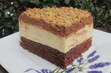 Ciasto Monte na kakaowym bi...