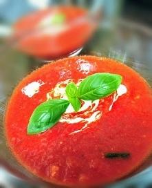 Krem z papryki i pomidorów