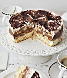 Ciasto Torcik Bananowe Niebo Bez Pieczenia. Przepis po kliknięciu w zdjęcie.