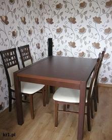 Stół i krzesła do jadalni -...