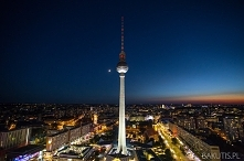 Wieża telewizyjna w Berlini...