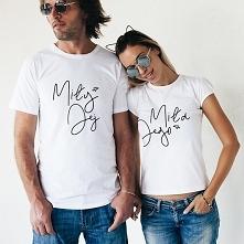 Koszulki dla par - Miły Jej...