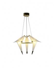 Lampa Wisząca Lora III Złota LED