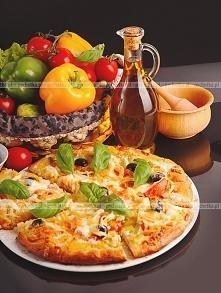 Pizza wegetariańska z oliwk...