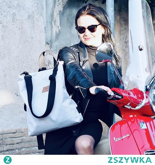 Plecak/torba Mili Urban Jungle L - jasno -szary