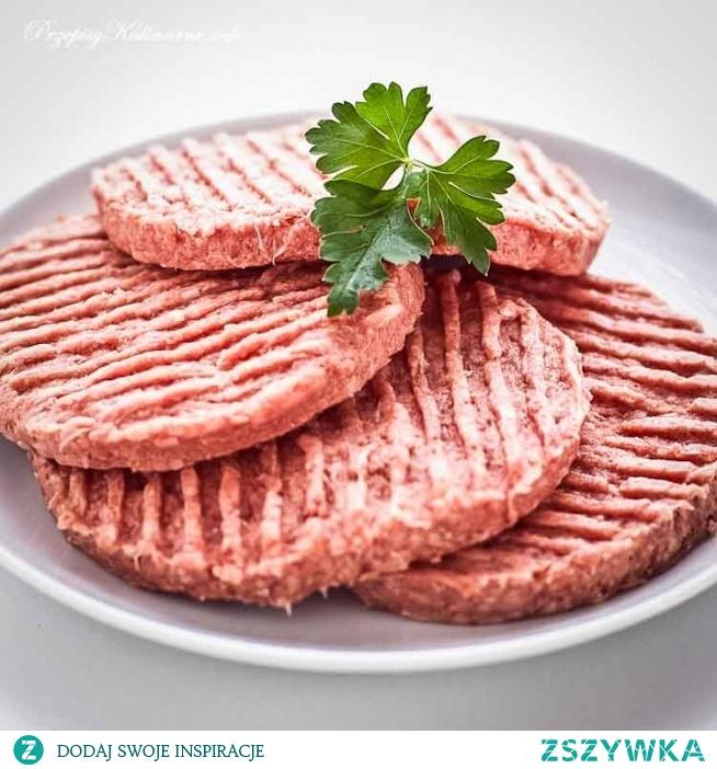 Mięso do hamburgerów