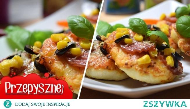 Weź gotowe ciasto do pizzy i zrób tę genialną przekąskę! Zniknie z talerza w mgnieniu oka!