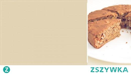 Ciasto z gruszką i orzechami laskowymi