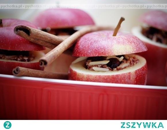 Zapiekane jabłka z cynamonem