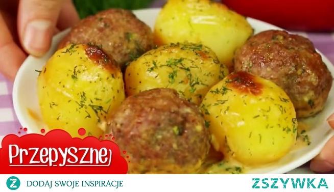 Przepis na pyszny obiad czyli klopsiki z ziemniakami